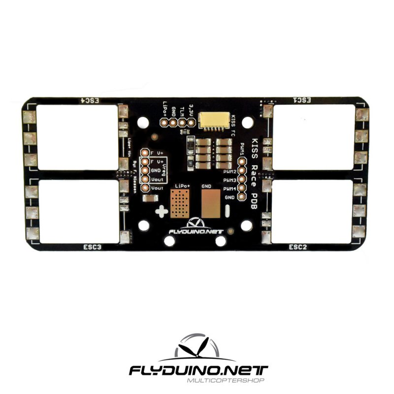 Flyduino Kiss Carrier Mini Power Distribution 24A Version