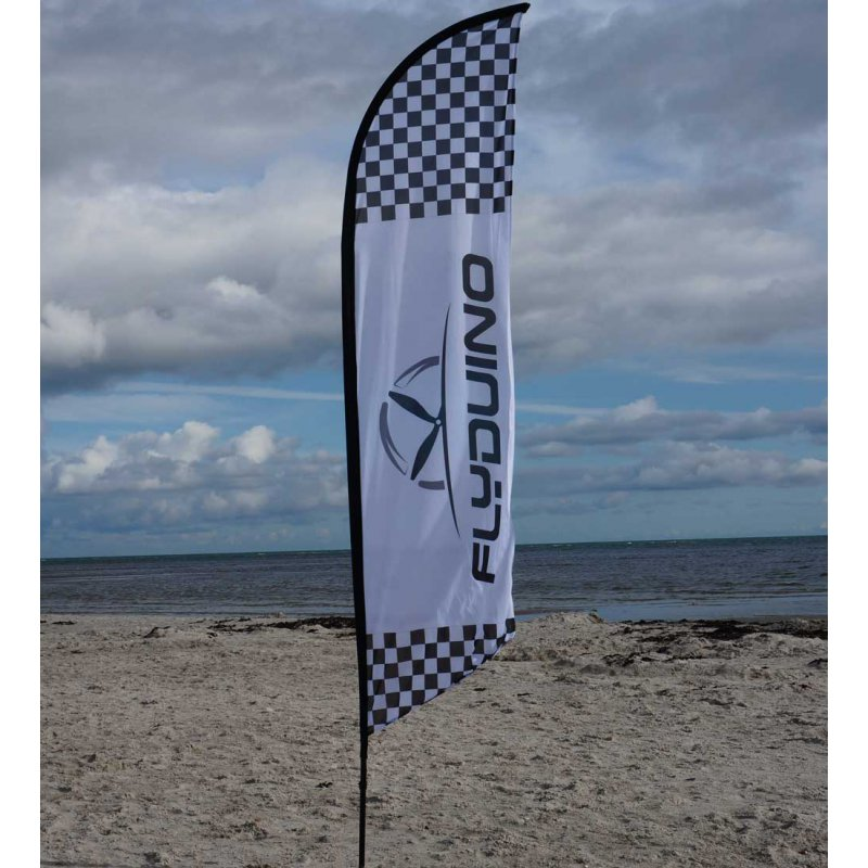 Flyduino  Beach Flag  3m - Cross
