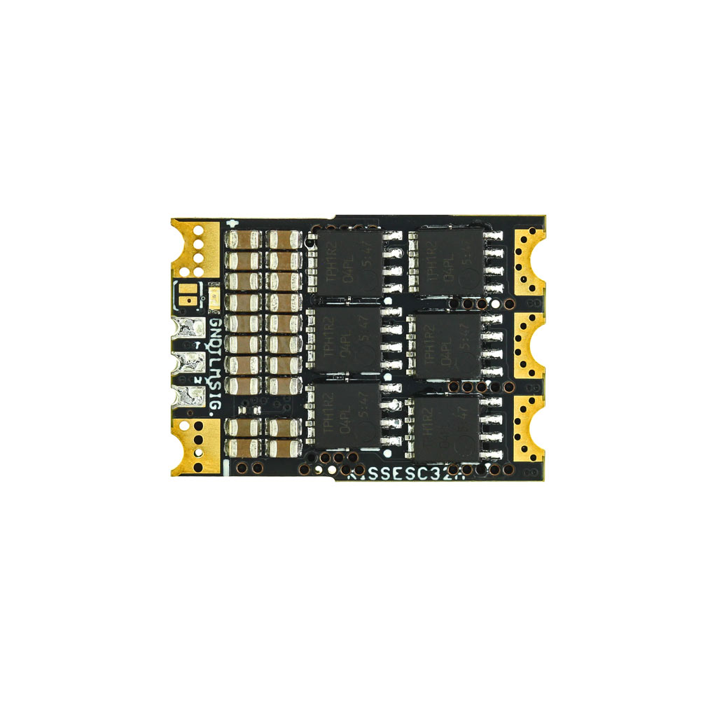 KISS ESC 2-6S 32A (45A limit) - 32bit brushless Motor Ctrl